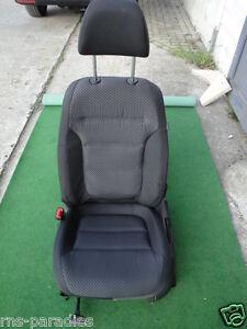 VW Jetta Golf 6 Seat Seats Equipment Fabric Titanium Black Mint