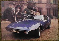 1970 ? Lotus Elite Sales Sheet Brochure 70 71 69 68 72