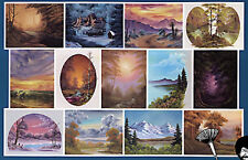 BOB ROSS, 3-disc DVD SET, Series 18 Teaches13 Paintings