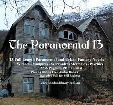 CD - The Paranormal 13  - Horror - Sight Impaired, Blind  38 Audio Books