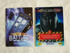 Dr Who Trading Card INVADER Card No. 437 JUDOON UNMASKING 062/225