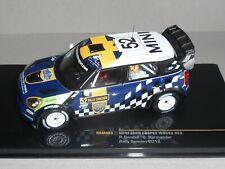 IXO,RAM493 MINI JOHN COOPER WORKS WRC #52.RALLY SWEDEN 2012,SANDELL & PARMANDER