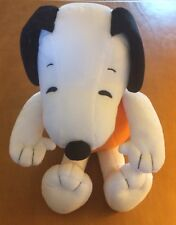 "Hallmark Snoopy Plush in Charlie Brown Pumpkin Face Costume 13"" (Missing Hat)"