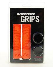 Race Face Sniper Lock-On MTB BMX Grips Orange
