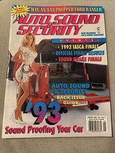 Auto Sound & Security Magazine January 1994