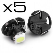 5 White SMD LED T4.7 Neo Wedge 12v Interior LED Bulb
