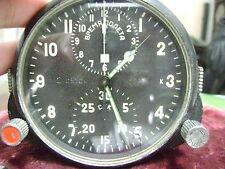 Montre Chronographe de bord Militaria Soviétique URSS de MIG-17 et MIG-19
