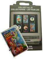 Disney Store VHS Video Case Mystery Trading Pin 2020 Toy Story Pixar Woody Buzz