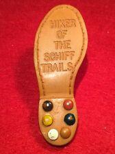 Original Nealslide Shoe Sole Hiker of the Schiff Trail Neckerchief Slide 802337