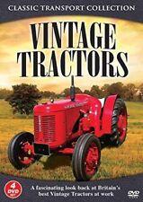 VINTAGE TRACTORS NEW 4 DVDSET AT WORK JOHN DEERE FORDSON FERGUSON MARSHALL IH