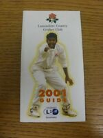 2001 Cricket: Lancashire County Cricket Club - Members Guide. If this item has a