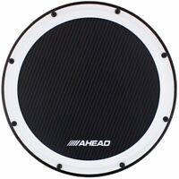 "Ahead AHSHP 14"" inch S-Hoop Marching Snare Drum Practice Pad with Snare Sound"