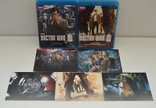 BBC Doctor Dr Who Series 7 part 1A and 1B Blu ray & 5 ARTCARDS postcards