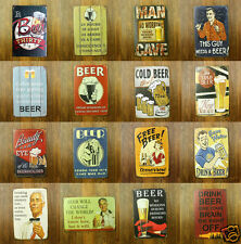 BEER QUOTES Humour Metal Tin Sign Bar Pub Tavern Brewery Wall Decor Bier GAG Ads
