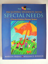 INCLUDING STUDENTS WITH SPECIAL NEEDS - THIRD EDITION - MARILYN FRIEND