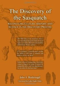 DISCOVERY OF SASQUATCH *NEW LARGEST SIZED EDITION* John Bindernagel READ BELOW