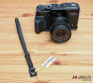 NEW Leather Camera Wrist Strap   Leica M Fuji X100 X PRO Olympus OM-D Sony A7
