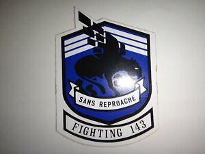 États-Unis Marine Strike Fighter Escadron VFA-143 Sans Reproache Autocollant