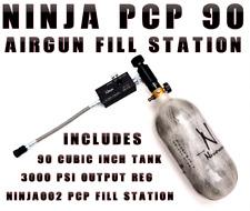 Ninja PCP Carbon Fiber Air Tank & Fill Station 4500 PSI 90 CU Tank AIR RIFLE