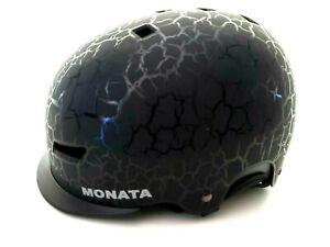 MONATA Ski Snowboard Helmet Black Men and Women Winter Snow Sports Large L