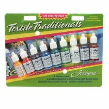 TEXTILE TRADITIONALS PAINT SAMPLER 9 PACK, Fabric Paints From Jacquard Products