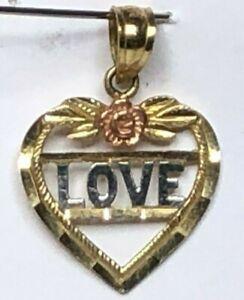 10k Black Hills Rose Gold Pendant Heart Shape .7g  Love,Mother, Wife Gift