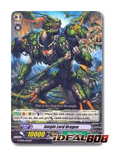 Cardfight Vanguard  x 4 Jungle Lord Dragon - G-TD03/003EN - TD (common ver.) Pac