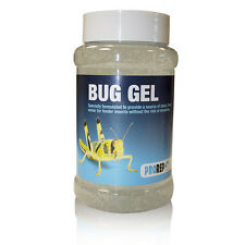 Prorep bug gel 500ml jar pack pour nourriture vivante insectes hydratation insecte gut charge
