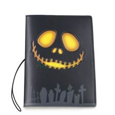 3D Ghost Skull Identity Card Pouch Passport Holder Protect Cover CASE Travel Bag