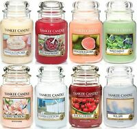 Yankee Candle Large Jar 22oz- Up to 40% off Selected Fragrances - FREE POSTAGE