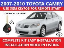 remote car starters for toyota camry for sale ebayplug \u0026 play remote start 2007 2010 toyota camry non g key