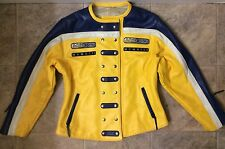 Vintage Rose Schott by Schott NYC Rose Racing 87 Leather Motorcycle Jacket Sz L