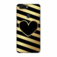 AMZER Snap On Case Diagonal Heart Lines HARD Plastic Protector Case Phone Cover