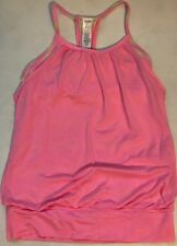 IVIVVA Double Dutch Tank Top Size 10 Pink Yellow
