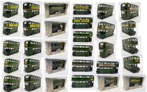 EFE 1/76 Scale Model Bus set - Repainted / RT AEC ETC X7 Pieces