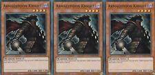 YUGIOH 3 X ARMAGEDDON KNIGHT -  SUPER  - DASA-EN040   DARK SAVIORS