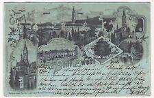 Zwettl,Gruss aus Stift Zwettl,Mondscheinkarte,Verlag Schwidernoch,1898 gelaufen