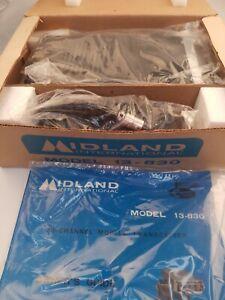 NIB Vintage Midland International CB Radio Model 13-830 Transceiver 1976