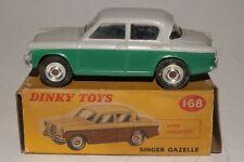 Dinky Toys #168, Singer Gazelle Sedan with Original Box