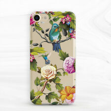 Floral Bird Hummingbird Girly Peony Case For iPhone 6 7 8 Xs XR 11 Pro Max SE