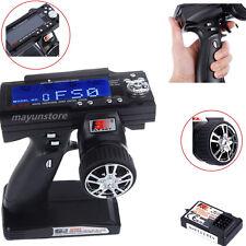 GT3B Flysky FS-GT3B 2.4G 3CH RC Car Transmitter With FS-GR3E Receiver System MY