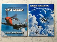 2 CONFEDERATE AIR FORCE GHOST SQUADRON BOOK BOOKLETS WW2 HISTORY
