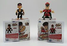 Street Fighter Ryu & M. Bison Loyal Subjects Action Vinyl figures