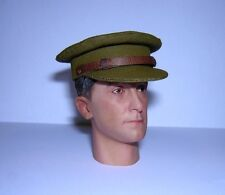 Banjoman custom made 1/6th Scale WW1 British Officer Service Cap