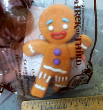 Shrek the Third McDonald's Happy Meal Toy, ACTION FIGURE 2007 Gingy Gingerbread