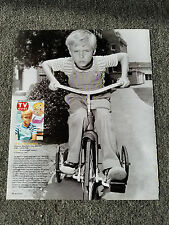 DENNIS THE MENACE JAY NORTH TRICYCLE MAGAZINE ADVERTISEMENT PRINT AD