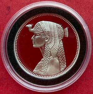 EGYPT , 5 POUNDS QUEEN CLEOPATRA 1993 - TOP , EXTREMELY RARE