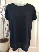 Pure Lime Black Sheer T Shirt XL New Tags