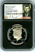 2019 S KENNEDY NGC PF70 UCAM PROOF HALF DOLLAR FIRST RELEASES BLACK CORE HOLDER