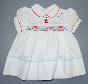 Vintage Lord & Taylor Baby Dress 6 Months NWOT